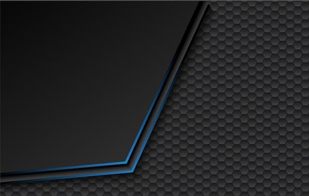 Schwarzer blauer hintergrund.