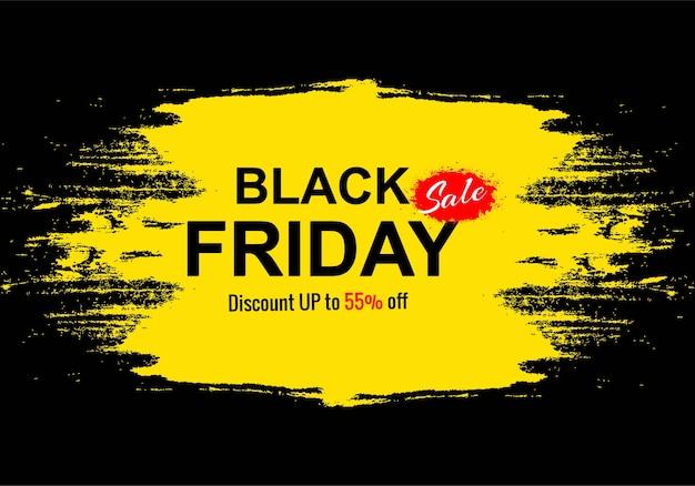 Schwarzer freitag-feiertagsverkauf für grunge