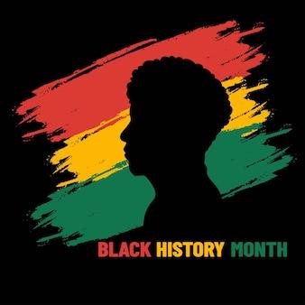 Schwarzer geschichtsmonat. afroamerikanische geschichte