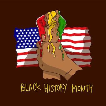 Schwarzer geschichtsmonat