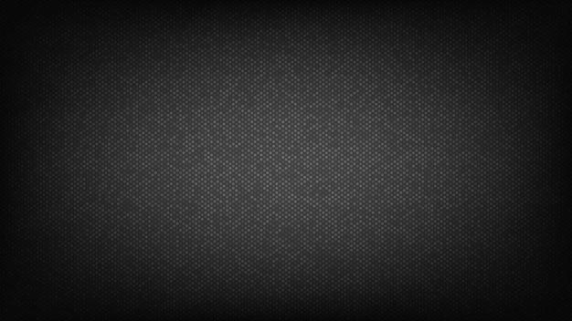 Schwarzer hintergrund. abstraktes abdeckungsdesign mit kreisen.