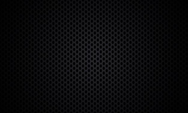 Schwarzer hintergrund. schwarzer texturmetallstahlhintergrund. dunkle kohlefaser-textur.