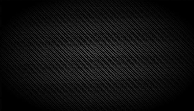 Schwarzer kohlefaser-textur-musterhintergrund