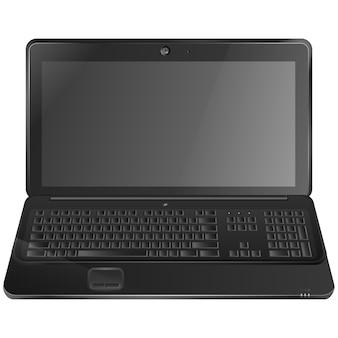 Schwarzer laptop