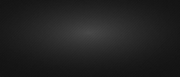 Schwarzer minimalistischer hintergrund mit gerippter textur