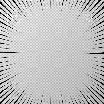 Schwarzer pop transparenter hintergrund auf transparentem hintergrund vektorillustration