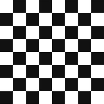 Schwarzer schachbrettschachquadrathintergrund.