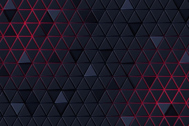 Schwarzer und roter abstrakter hintergrund