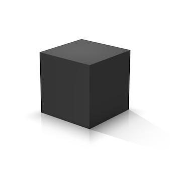 Schwarzer würfel