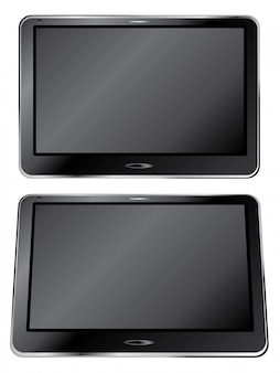 Schwarzes digital-tablet
