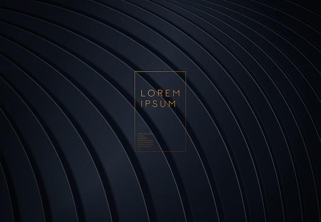 Schwarzes papier geschnitten hintergrund
