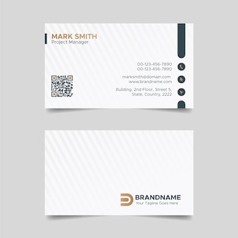 Schwarzweiss-visitenkartenentwurf, anwaltskanzlei legal style visiting card template