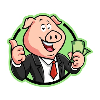 Schwein bargeld badge version
