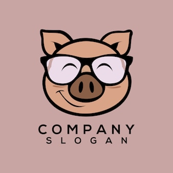 Schwein logo vektor