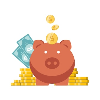 Schweinchen und geld