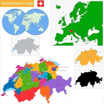 Schweiz karte