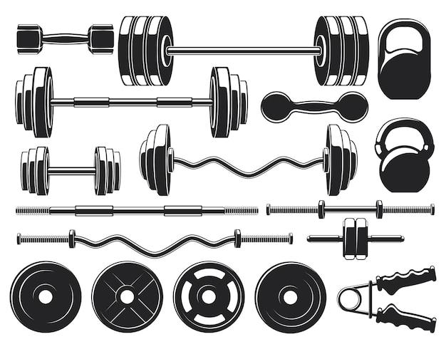 Schwergewichtsgeräte im fitnessstudio