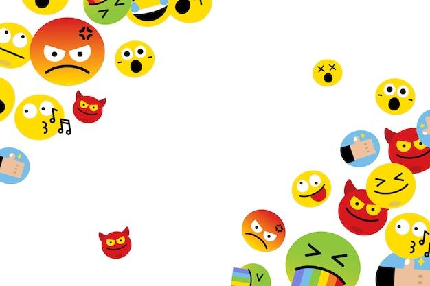 Schwimmende emojis