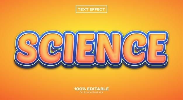 Sciene 3d-texteffekt