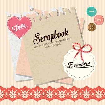 Scrapbook-konzept