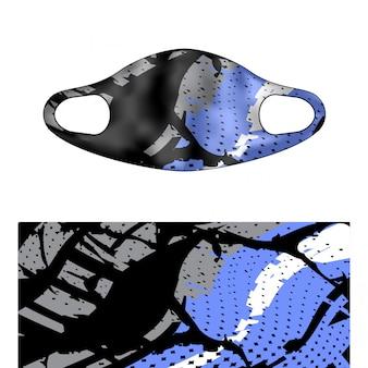 Scuba masker illustration