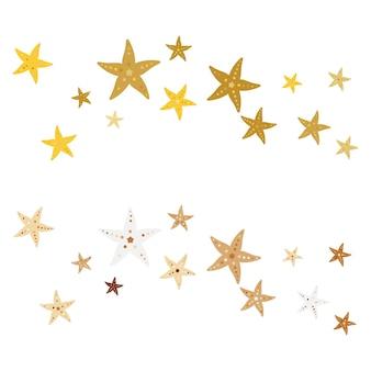 Sea star fisch symbol vorlage vektor-illustration-design
