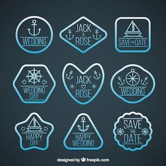 Seagoing hochzeit-label-kollektion