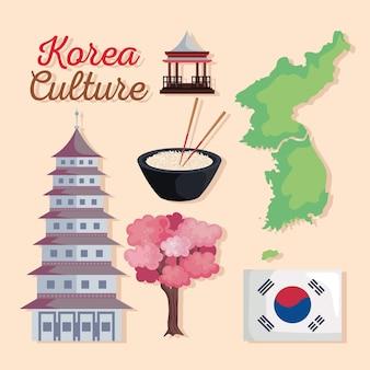 Sechs koreanische kulturikonen