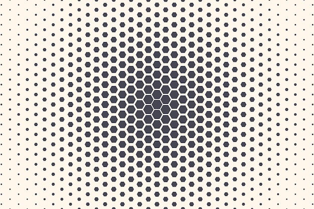Sechseck-formen abstrakter geometrischer radialer textur-abstrakter hintergrund