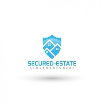 Security company logo-vorlage