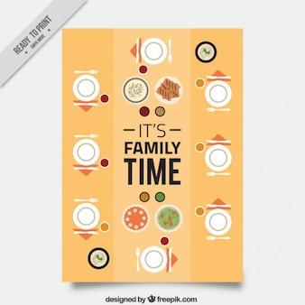Sehr nette familie tageskarte