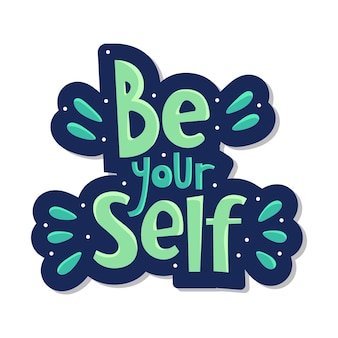 Sei deine selbstbeschriftung