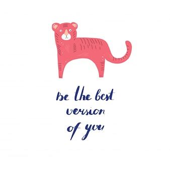 Sei die beste version von dir selbst