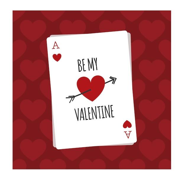 Sei meine valentinskarte