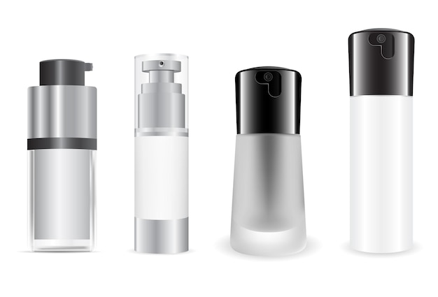 Seidenkosmetik foundation flasche