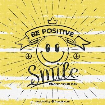 Seien sie positiven hintergrund