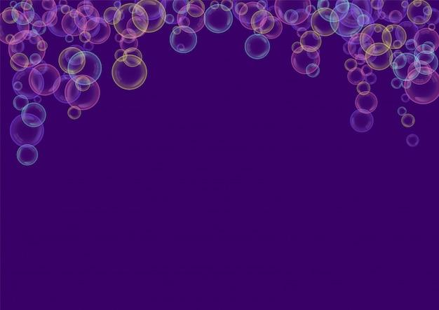 Seifenblasen fliegen