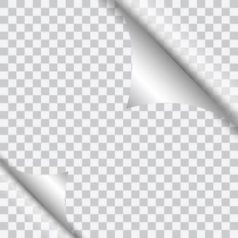 Seite curl design