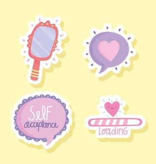 Selbstakzeptanzsymbole