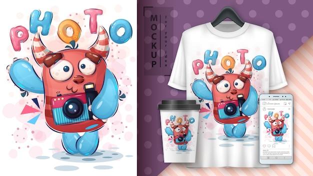 Selfie monster poster und merchandising