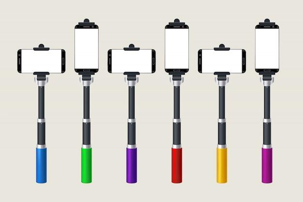 Selfie-stick-set