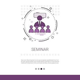 Seminarberatung hilfe business support web banner