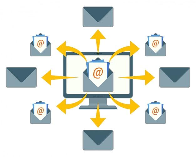 Senden von e-mail-nachrichten
