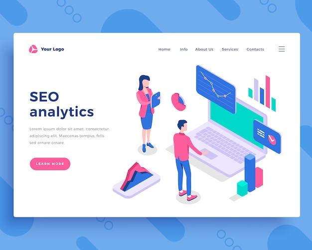 Seo analytics-konzept