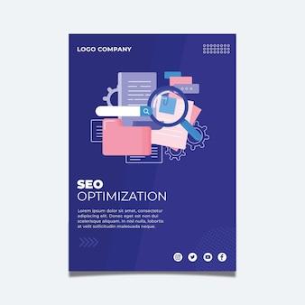 Seo flyer vorlage