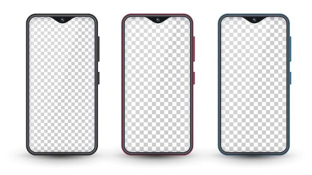Ser realistische farbe smartphone.