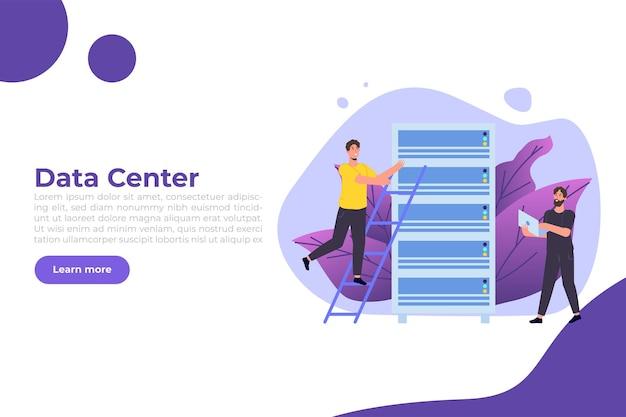 Server-banner für it-administratoren