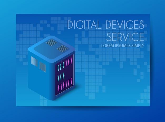 Server-netzwerk-technologie