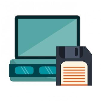 Server- und diskettentechnologie