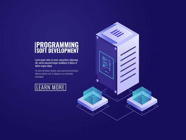 Serverhardware, webhosting, computersoftware, cloud-speicher, datenschutz